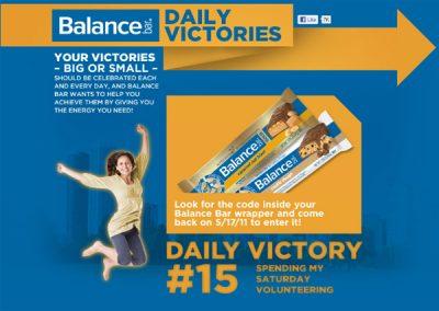 Balance Bar   Daily Victories
