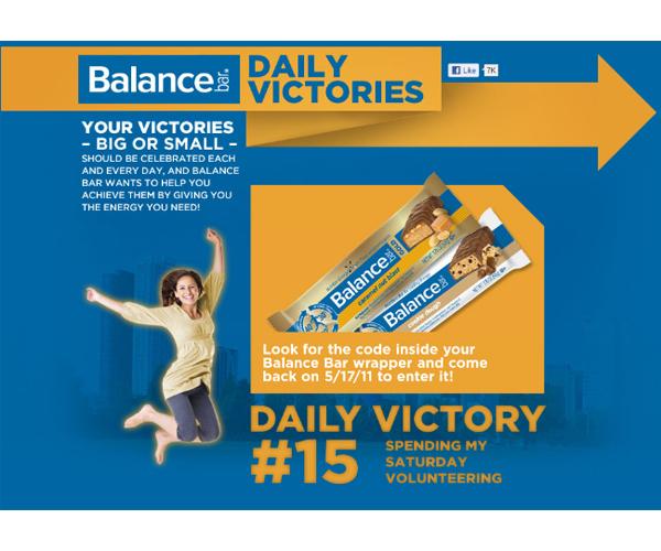 Balance Bar | Daily Victories