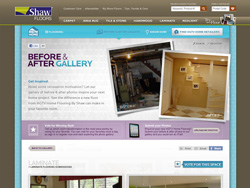 Shaw Floors | Before & After